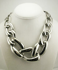 "Rachel Zoe Bold Link Necklace with 3 1/2"" extender (QVC sold out)"