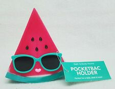 Bath & Body Works Glasses WATERMELON Standing Pocketbac Holder Sleeve Case Table