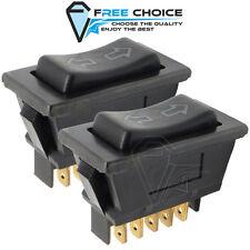 2 x Fensterheber Schalter Universal 12V Elektrischer Scheibenheber Pkw Kfz 5 pin