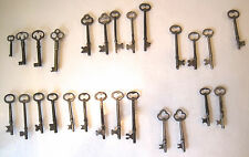 VTG~BARREL BIT~SKELETON KEYS~26pc Lot~FURNITURE/CABINET~5-GERMANY STEAMPUNK