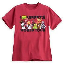 Disney Store Authentic Muppets Mens T Shirt  Tee Size Small Kermit Animal Fozzie