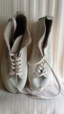 Henry Beguelin Suede Off-White High Top Sneakers, Size 43 – Retail $625