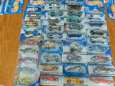 LOT OF 34  HOT WHEELS 1990s  & 2000s New in package    Free   SHIPPING LOT #501
