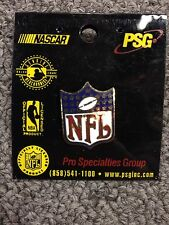 Nfl Shield Logo Lapel Hat Pin New On Card
