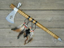 Tomahawk Axe Hatchet Indian Peace Pipe Reproduction