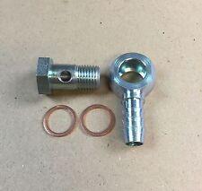 Hohlschraube M14x1,5 / Ringnippel mit Schlüsselfäche für PA-Rohr innen 10mm