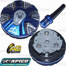 Apico Blue Alloy Fuel Cap Vent Pipe For Husaberg FE 570 2009 Motocross Enduro