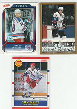 1989 TO 2014...NEW YORK RANGERS...LOT OF 112 CARDS...INCLUDES 6 RC'S