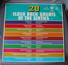 """Vinilo LP 12"""" 33 rpm 20 FLASH BACK GREATS OF THE SIXTIES - Long Playing Record"""