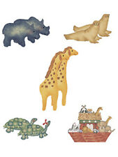 Noahs Ark Animals Country Noah 25 Wallies Decal Stickers Border Wallpaper Walls
