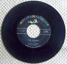 """EYDIE GORME """"I'M YOURS"""". 45 RPM RECORD, (1959). PC8"""