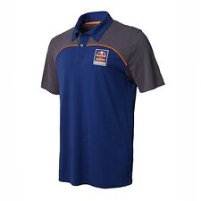 Red Bull KTM Factory Racing Race Day Polo Navy/Asphalt XXL
