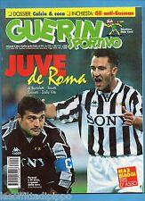 GUERIN SPORTIVO-1996 n.43- PERUZZI-DI LIVIO-MARADONA-TOMBA-BIAGGI-CALCIOMONDO