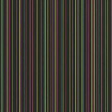 X-Treme Colour Black / Multi Stripe Wallpaper 05564-10
