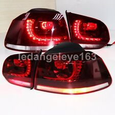 2009 to 2012 Year For VW Golf 6 MK6 LED Back Lamp Tail Lights Red Color YZ
