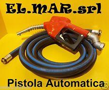 Pistola in Alluminio Automatica + TUBO 4 mt per Pompa Travaso Gasolio Diesel