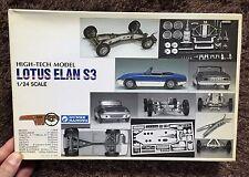 LOTUS ELAN S3 HIGH TECH METAL & PLASTEC MODEL KIT GUNZE JAPAN