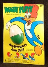 Vintage 1972 Woody Woodpecker PUTTY Toy by Larami Rack Toy Classic Cartoons NEW