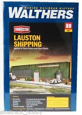 HO Scale Walthers Cornerstone 933-3191 Lauston Shipping Profile Building Kit