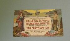 1910 Get Congress to Vote for 1915 San Francisco Pan Pacific Exposition Postcard