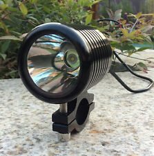 12V 30W CREE LED Spot Light Motorcycle Scooter Moped Boat Waterproof headlight