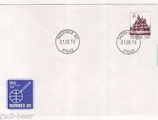 Norwegen Nr.  769  Brief  Sonderstempel Norwex 80    Europa  Stabkirchen