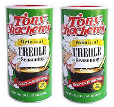 Tony Chachere's Original Creole Seasoning (Pack of 2) 17 oz Shaker Top Can