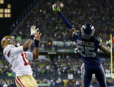 Richard Sherman Seattle Seahawks 8.5 x 11 in. Poster Print Photo Great Quality
