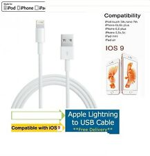 2x Original Apple Sincronización & Cargador Cable de datos USB para iPhone 6s