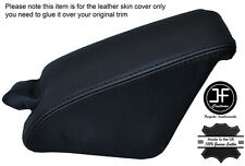 BLACK STITCHING DASH DASHBOAD TRIM LEATHER COVERS FITS BMW 6 SERIES E24