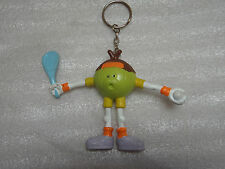 FANTASTIC NOVELTY TENNIS PLAYER KEYRING WIMBLEDON - KEY CHAIN FOB RING