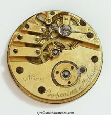 SWISS LEVER POCKET WATCH MOVEMENT  AA20