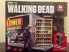 LOWER PRISON CELL the walking dead MCFARLANE Riot toys building set construction