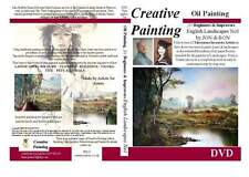 Art Oil Painting DVD Tutorial English Landscapes Educational 2008