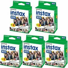 Fuji INSTAX WIDE Instant Film 5 x Twin Pack - 100 scatti fattura IVA inclusa