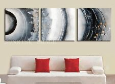 Set Handmade Modern Abstract Oil painting on canvas ART wall decor (NO Frame)
