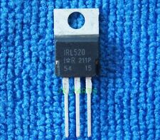 5 x New IRL520 IRL 520 Power MOSFET TO-220 IR