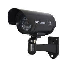 Kamera Dummy Überwachungskamera Attrappe Alarmanlage Camera Fälschung schwarz