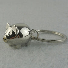 1Pc Lovely Mini Pig Keychain Keyring Keyfob Cute Gift Ring Charm Decoration