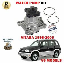 FOR SUZUKI GRAND VITARA 2.5 2.7i 2.0 V6 MODELS 21998-2005 NEW WATER PUMP
