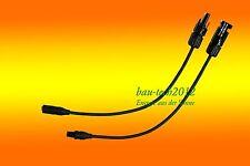 MC4 - MC3 Stecker Solar Adapter Kabel - NEU