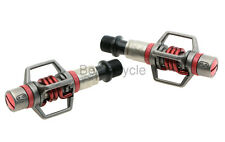 Crank Brothers Eggbeater 3 XC / Race Pedals Red w/ Cleats MTB NEW in box EB3