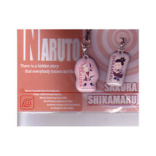 Naruto Sakura, Shikamaru Screen Wiper Phone Strap A NEW