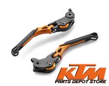 2014 - 2015 KTM 1290 SUPER DUKE R FOLDABLE & ADJUSTABLE CLUTCH AND BRAKE LEVERS