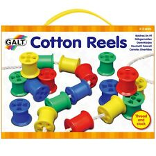 Galt Cotton Reels - Children's Threading Cotton Reel and Laces Fine Motor Toy