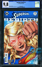 SUPERGIRL REBIRTH #1 - FIRST PRINT - CGC 9.8 - SOLD OUT - DC COMICS RELAUNCH