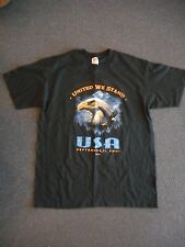 """United We Stand: September 11, 2001"" T-Shirt by Anvil - Size L"