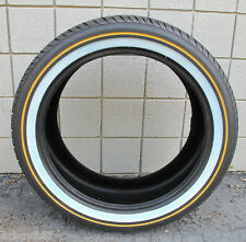 New 285-45-22 114H Vogue Tyre Custom Built XIII Gold White Tire 28545R22 2854522