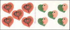 France 2000 Valentine's Day/Heart/Snakes/Love/Yves St Laurent/YSL bklt (n43815)