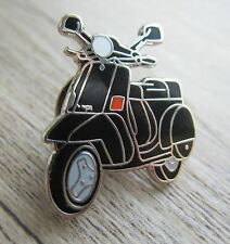VESPA Pin/Piedini: Roller/Scooter-NERO-emaillert-PX 50-Kult